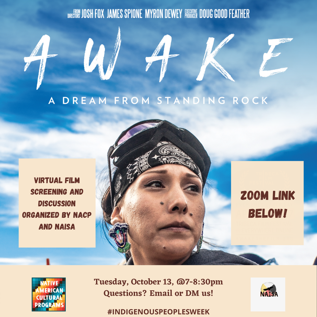 Virtual Film Screening--Awake! A Dream from Standing Rock @7pm