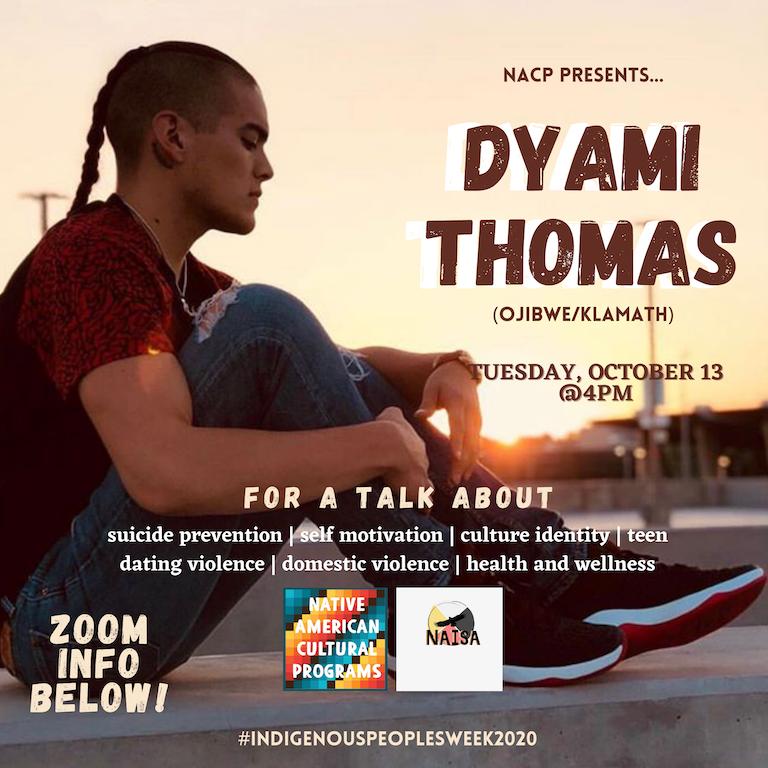 Keynote Speaker--Dyami Thomas